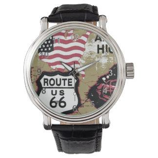 Vintage Route 66 Wristwatches