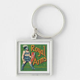 Vintage Royal Arms Fruit Label Keychains
