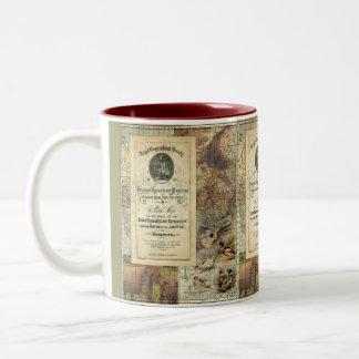 Vintage Royal Geographical Society Mug