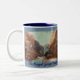 Vintage Royal Gorge Train Coffee Mug