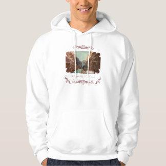 Vintage Royal Gorge Train Hooded Sweatshirt