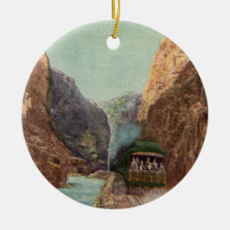 Vintage Royal Gorge Train Ornament