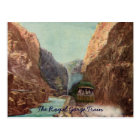 Vintage Royal Gorge Train Postcard
