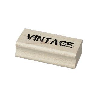 Vintage rubber stamp, vintage style stamp