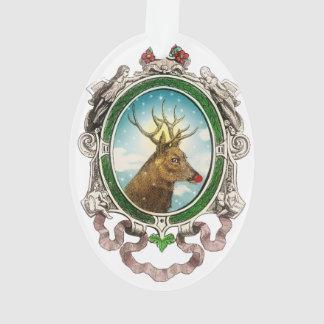 Vintage Rudolf Santa's Reindeer ornament