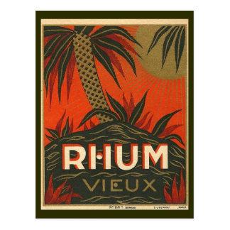 Vintage Rum Advertisement Postcard