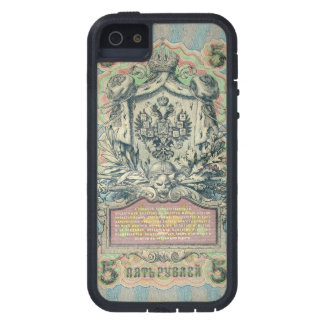 Vintage russian banknote case for the iPhone 5