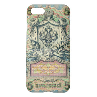 Vintage russian banknote iPhone 7 case