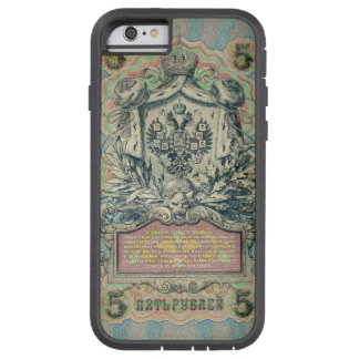Vintage russian banknote tough xtreme iPhone 6 case