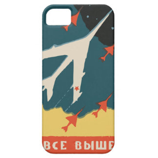 Vintage russian matchbox ads (CCCP Jet Fighters) iPhone 5 Covers