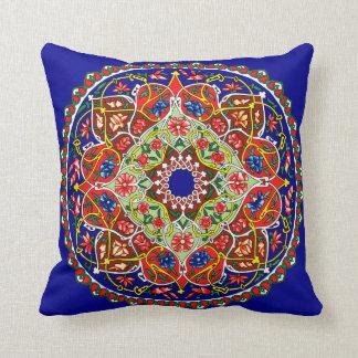 Vintage Russian Tile Design Cushion