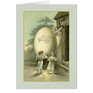 Russian easter angel gifts gift ideas zazzle uk vintage russian ukrainian angels easter card negle Gallery