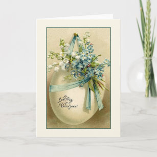 Vintage russian easter gifts gift ideas zazzle uk vintage russian ukrainian easter greeting card negle Images