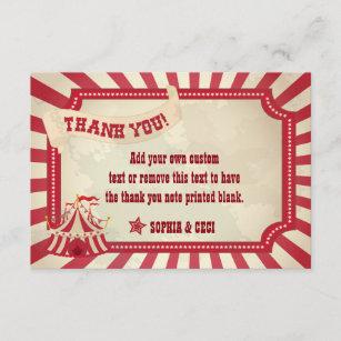 vintage thank you cards zazzle uk