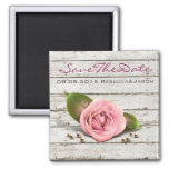vintage rustic country wedding save the date