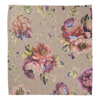 Vintage Rustic Floral Do-rag