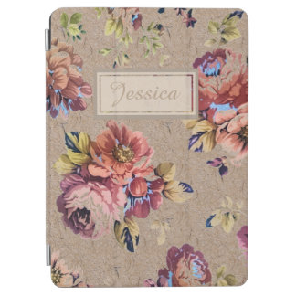Vintage Rustic Floral iPad Air Cover