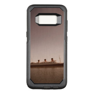 Vintage Rustic Sepia Aged Queen Mary Otter Box OtterBox Commuter Samsung Galaxy S8 Case
