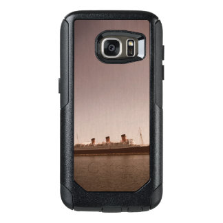Vintage Rustic Sepia Aged Queen Mary Otter Box OtterBox Samsung Galaxy S7 Case