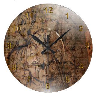 Vintage Rustic Time Clock Design