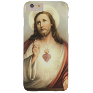 Vintage Sacred Heart of Jesus Barely There iPhone 6 Plus Case