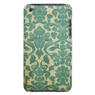 Vintage Sage Green Damask iPod Touch Case