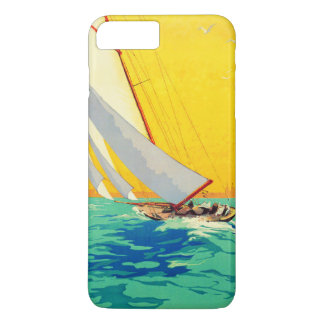 Vintage Sail Boats Travel iPhone 7 Plus Case
