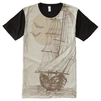 Vintage sailboat All-Over print T-Shirt