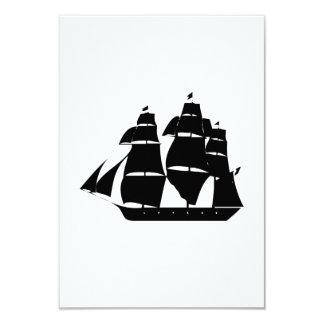 Vintage Sailboat Invitations