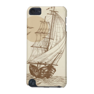 Vintage sailboat iPod touch 5G cover