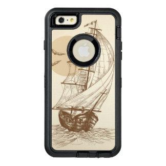Vintage sailboat OtterBox iPhone 6/6s plus case