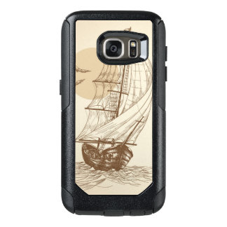 Vintage sailboat OtterBox samsung galaxy s7 case