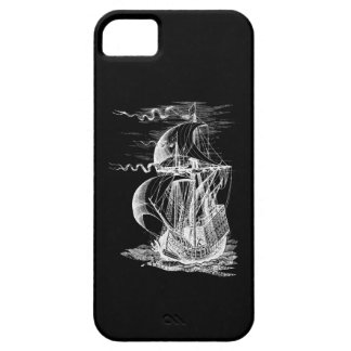 Vintage Sailing Ship Barely There iPhone 5 Case