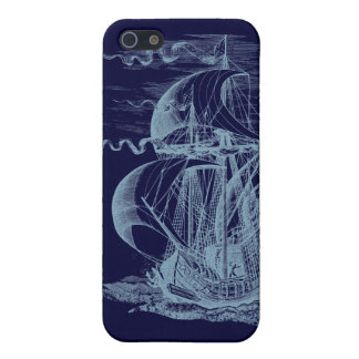 Vintage Sailing Ship iPhone 5 Cases