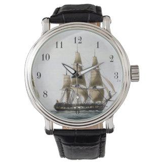 Vintage Sailing Ship Wrist Watches
