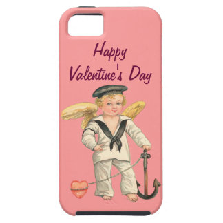 Vintage Sailor Cupid Valentine iPhone 5 Case