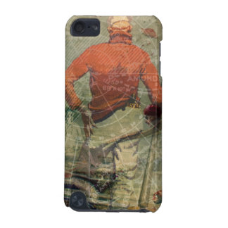 Vintage Sailor Diving Woman Mermaids Map Collage iPod Touch (5th Generation) Cases