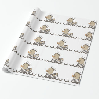 Vintage Sailor Wrapping Paper