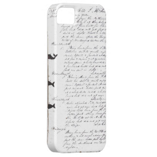 Vintage Sailors Logbook Iphone Cover