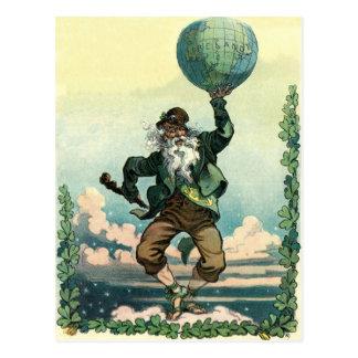 Vintage Saint Patrick s day - Postcard