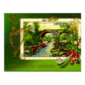 Vintage : Saint Patrick's day - Postcard