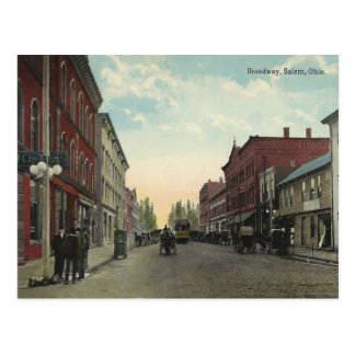 Vintage Salem Ohio Postcard