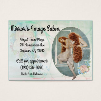 Vintage Salon Business Card