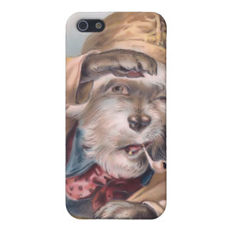 Vintage Salty Sea Dog 4  iPhone 5/5S Cases
