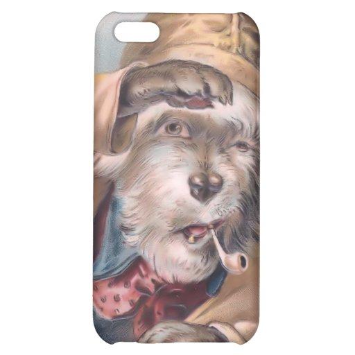 Vintage Salty Sea Dog 4  iPhone 5C Case
