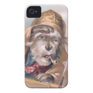 Vintage Salty Sea Dog iPhone 4 Barely-There iPhone 4 Case-Mate Cases