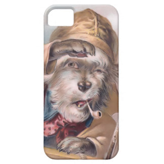 Vintage Salty Sea Dog iPhone 5 Case-Mate Barely There iPhone 5 Case