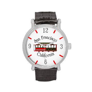 Vintage San Francisco Cable Car Wrist Watch