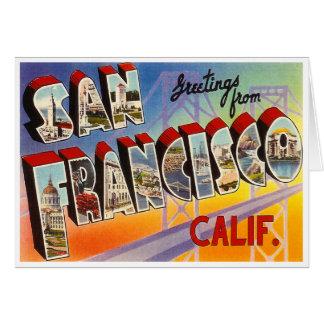 Vintage San Francisco Card