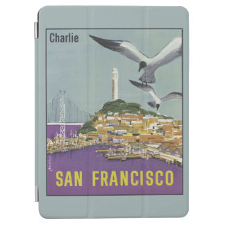 Vintage San Francisco custom name device covers iPad Air Cover